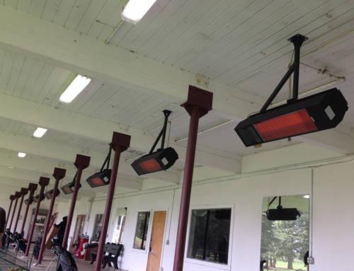 Glendoveer Golf Course Driving Range Heaters