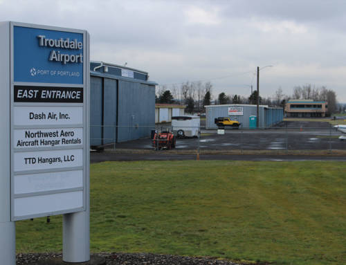 Troutdale Airport Hangar